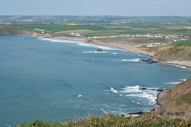 Widemouth near Bude N Cornwall